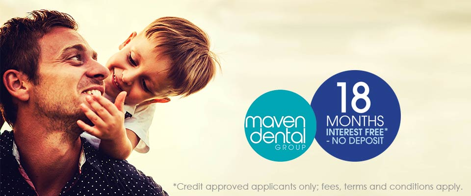 18 Months Interest Free* Payment Option