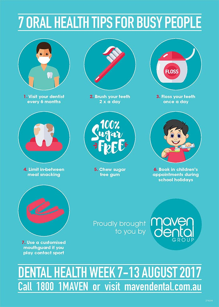 Dental Health Week - & Oral Health Tips For Busy People